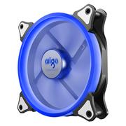 爱国者  极光 14CM蓝光 电脑机箱风扇(小3P+大4P双接口/水冷排散热/减震脚垫/赠4螺丝)