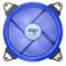 爱国者  极光 14CM蓝光 电脑机箱风扇(小3P+大4P双接口/水冷排散热/减震脚垫/赠4螺丝)产品图片3