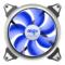 爱国者  极光 14CM蓝光 电脑机箱风扇(小3P+大4P双接口/水冷排散热/减震脚垫/赠4螺丝)产品图片4