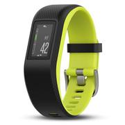 佳明 vivosport 智能运动GPS光学心率手环实时监测睡眠监测来电提醒运动蓝牙手表 L号 荧光绿