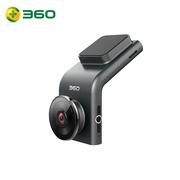 360 行车记录仪 G300 迷你隐藏 高清夜视 无线测速电子狗一体 黑灰色