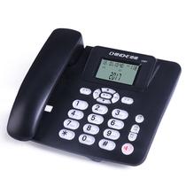 中诺 C267 有线坐式固定电话机坐机家用办公座机座式单机来电显示免电池 黑色产品图片主图