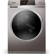 三洋 WF80BHE575S 8公斤变频 洗烘一体机 滚筒洗衣机 等离子焊接内筒 3D稳定系统(浅咖亚银)