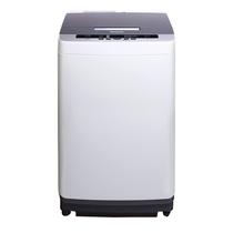 松下 XQB80-Q58T2F 全自动波轮洗衣机 8公斤宽瀑布速流灰色产品图片主图