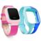 小天才 电话手表Y01 经典版 皮革粉色 儿童智能手表360度安全防护 学生定位手机 儿童电话手表 +硅胶蓝表带产品图片2