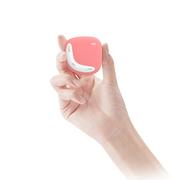 爱国者 mp3播放器 小石头MP3-203迷你音乐播放器 mp3学生 无损高音质跑步运动型 时尚轻质 红色