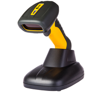科密 WE12D 无线扫描枪一维码二维码高速带座 工业级防水防尘扫码枪扫描器扫码器条码枪
