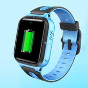 小寻 小米生态链 儿童电话手表 防丢生活防水GPS定位 学生定位手机 智能手表 儿童手机 蓝色T1