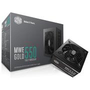 酷冷至尊 MWE550金牌 额定550W全模组电源(80PLUS金牌/LLC全桥/DCtoDC架构/45°无损输出)