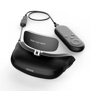 酷睿视  移动3D影院 高清 非VR眼镜一体机 成人头戴器 适配X-BOX游戏  G1(32G) 黑色