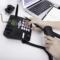 得力 770移动联通SIM插卡电话机 来电显示座机 固定电话无绳 语音播报(商务黑)产品图片4