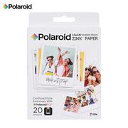 宝丽来 Zink3X4英寸 20张相纸 POP系列拍立得相纸 即影即现无墨相纸 20张