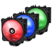 SE-214-RGB RGB同步光效塔式侧吹CPU散热器 全黑化四热管13CM风扇全平台产品图片主图