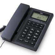 得力  774免提通话电话机/座机 免电池来电显示家用/办公固定电话(金属灰)