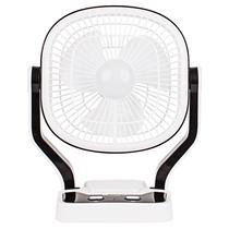 安备 户外电风扇 无绳风扇 台式充电风扇 小风扇 应急电风扇 2907黑白产品图片主图