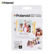 宝丽来 Zink3X4英寸 10张相纸 POP系列拍立得相纸 即影即现无墨相纸 10张