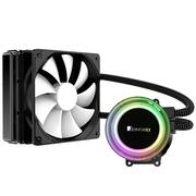 乔思伯 TW2-120标准版 一体式CPU水冷散热器 (RGB七彩流光冷头/12CM温控风扇/多平台/附带硅脂)