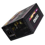 游戏悍将 电脑电源台式主机箱全模组金牌电源额定600w GX600