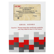 H3C LIS-WX-128-BE license授权函-无线AC控制器管理授权文件 管理128AP