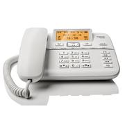 德国金阶 原西门子DA760A录音电话机/办公家用内置16G卡安全加密/智能答录/呼叫中心客服酒店固定电话机座机白