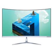 技讯(GVNXUHI) JXG5011 23.6英寸商务办公家用曲面一体机(Intel四核 4G 120G固态 WIFI 有线键鼠)黑色