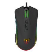 E.T ET T12 有线鼠标  游戏鼠标 吃鸡鼠标 电脑鼠标  发光鼠标 RGB灯效 黑色