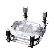 追风者  C350A 银色 AM4/3/FM2 电脑CPU水冷头(RGB同步灯控/加厚铜底/Viton军工级密封用料工艺)