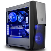 酷冷至尊 MasterBox MB500 毁灭者Ⅲ 中塔机箱(支持ATX主板/12cmx2蓝光风扇/长显卡)