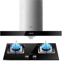 美的 大吸力高温洗 欧式油烟机灶具套装(天然气) CXW-200-DT518R产品图片主图