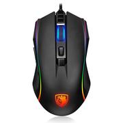 赛德斯 幻影 RGB有线光电宏鼠标(吃鸡版)lol外设电竞电脑USB鼠标宏编程吃鸡绝地求生大逃杀鼠标
