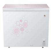 海尔 BC/BD-202HLG 202升彩晶钢化玻璃面板低霜科技 家用冷藏冷冻转换冰柜