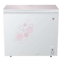 海尔 BC/BD-202HLG 202升彩晶钢化玻璃面板低霜科技 家用冷藏冷冻转换冰柜产品图片主图