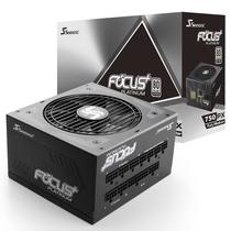 海韵 额定750W FOCUS+750PX 电源(80PLUS白金牌 转换93.8%/全模组/静音低载风扇转停/十年质保)产品图片主图