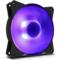 酷冷 MasterFan MF120R RGB机箱风扇(均衡型风扇/旋翼扇叶/12cm/同步4大板商RGB灯效)产品图片3