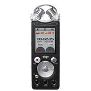 爱国者 R5599 录音笔专业降噪远距离 双麦克 50米无线录音 HIFI播放 16G 黑色
