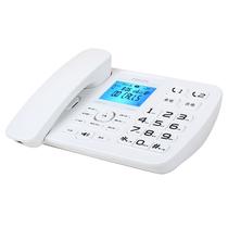 飞利浦 CORD165录音电话机/留言答录/存储卡扩展/办公商务家用保密插卡座机电话HCD9669(225)TSD白色产品图片主图