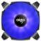爱国者  BX12双扇叶 深海蓝 12CM机箱风扇(小4pin PWM温控接口/双扇叶/水涡轮增压/双电击/赠4螺丝)产品图片3