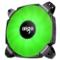 爱国者  BX12双扇叶 青春绿 12CM机箱风扇(小4pin PWM温控接口/双扇叶/水涡轮增压/双电击/赠4螺丝)产品图片1
