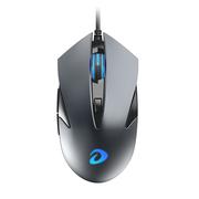 达尔优 LM113G 有线光学游戏办公鼠标 USB鼠标 笔记本鼠标 银灰色
