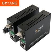 博扬(BOYANG) BY-WF813A/B百兆单模单纤外置收发器A/B光纤收发器光电转换器LC接口产品图片主图