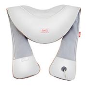 SKG 颈椎按摩器 颈肩腰部背部按摩披肩 按摩垫家用肩颈椎捶打按摩仪 4116 太空灰