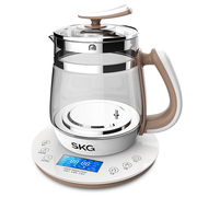 SKG 养生壶玻璃加厚保温电水壶多功能煮茶壶8088S 2L 滤网款