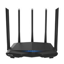 腾达 AC7 1200M穿墙增强 无线路由器 5G双频 家用智能路由(光纤宽带大户型 五天线新品)产品图片主图