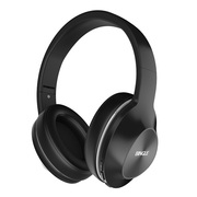 宾果 Q5   头戴式蓝牙耳机 无线通话 重低音 手机耳机游戏耳麦(优雅黑)