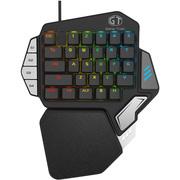 多彩 T9X单手机械键盘手机游戏电竞lol吃鸡手游宏自定义编程便携小键盘