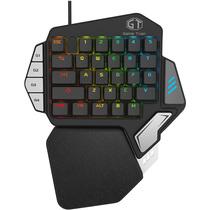 多彩 T9X单手机械键盘手机游戏电竞lol吃鸡手游宏自定义编程便携小键盘产品图片主图