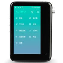 艾利和 ACTIVO CT10 16G mp3播放器 HIFI无损音乐播放器 WIFI蓝牙APTX-HD 黑色产品图片主图