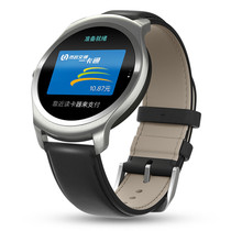 Ticwatch 【2 经典系列】智能手表谷歌技术独立通话GPS运动轨迹心率蓝牙消息推送NFC支付兼容安卓苹果ios 黑色产品图片主图