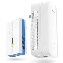 TP-LINK 1000M无线电力猫套装 电力线WiFi扩展穿墙宝 信号放大 搭配路由器使用 TL-PA1000&PA1000W产品图片主图