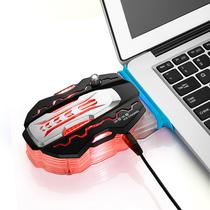 酷睿冰尊 K1 220V笔记本散热器(抽风式散热器/笔记本风扇/散热风扇/电脑散热器)产品图片主图